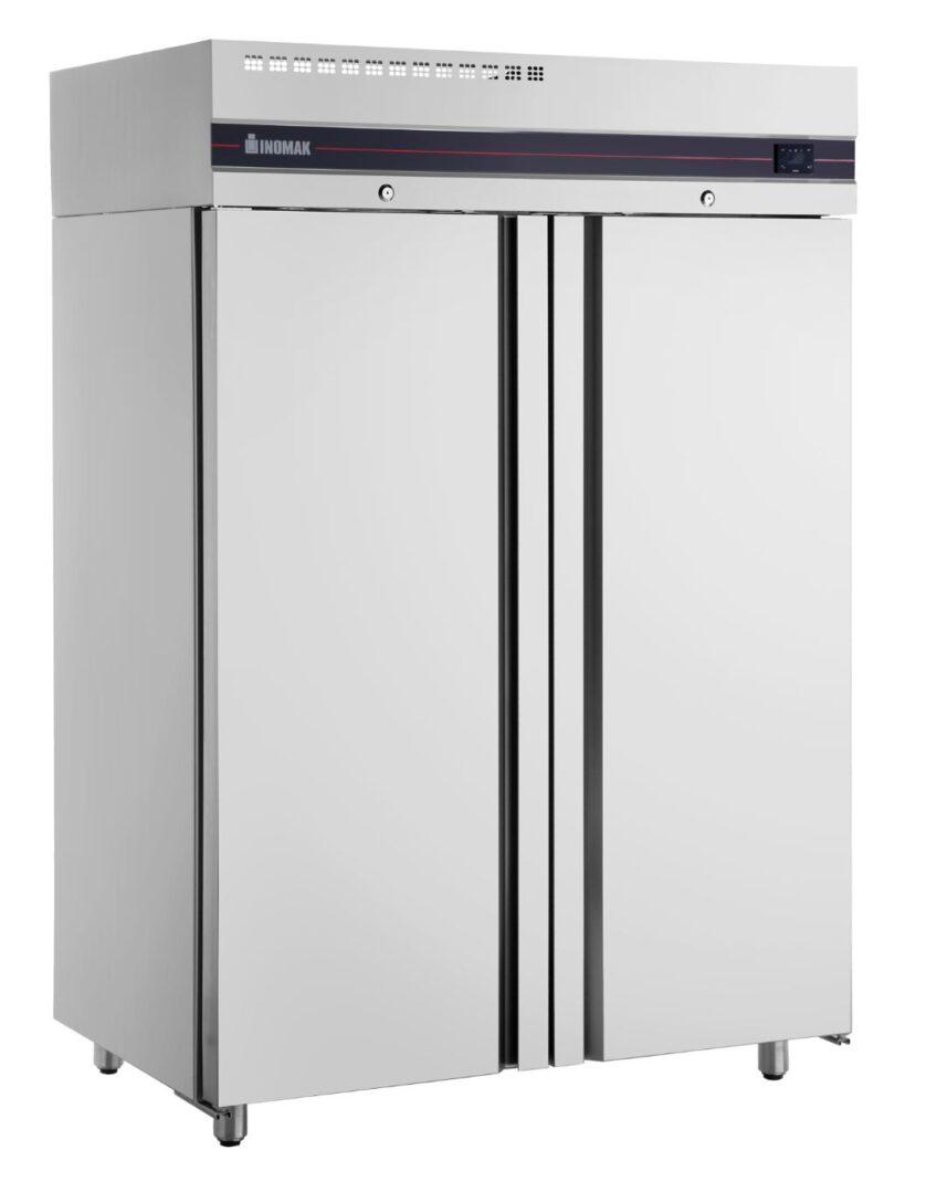 Inomak UFI2140SL Slimline Solid Double Door Upright Freezer