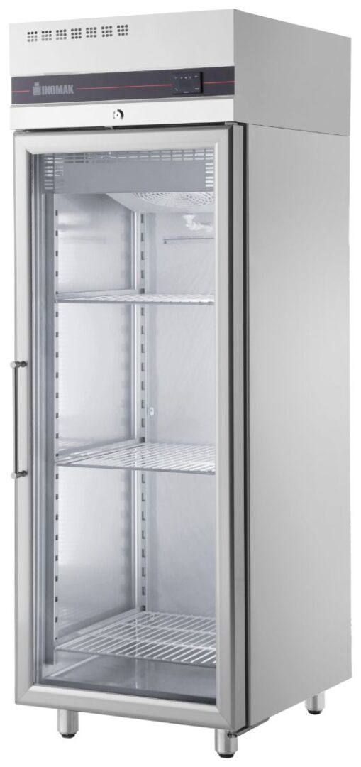 Inomak UFI2170G Single Glass Door Upright Freezer