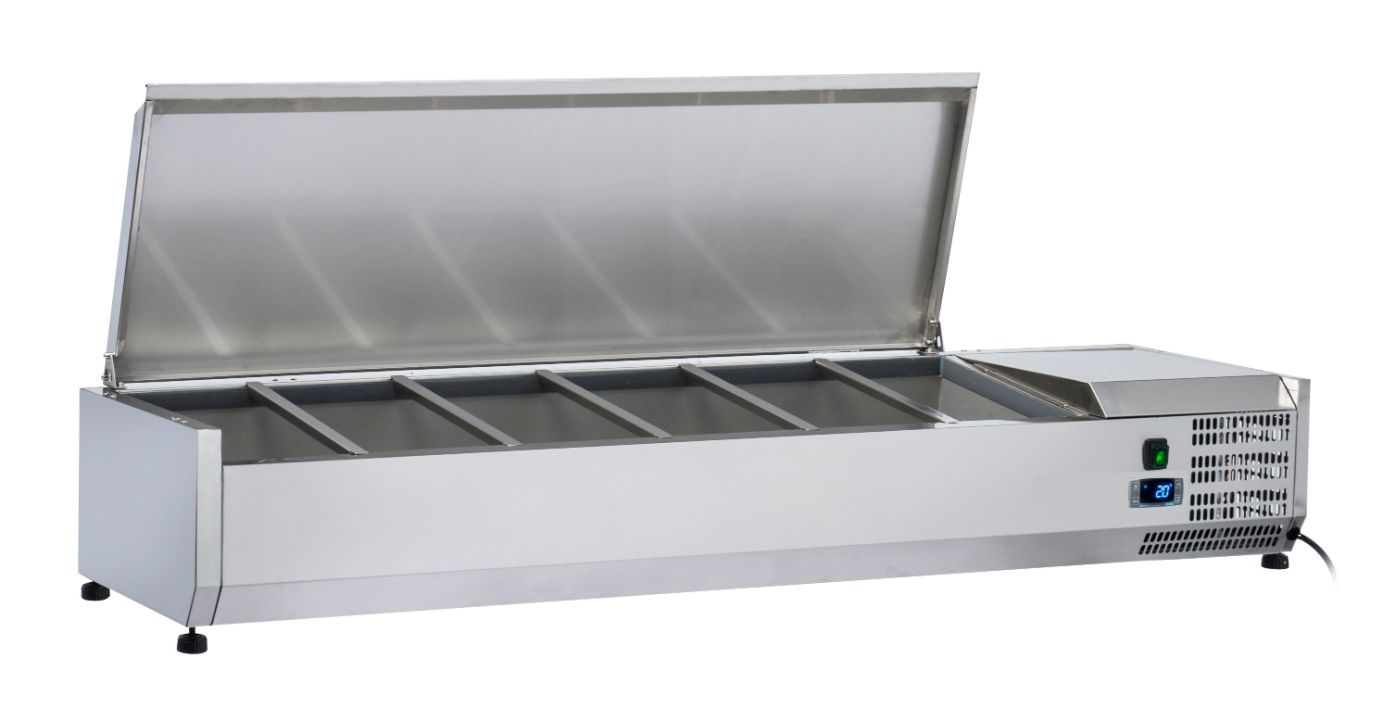 Anvil VRX1800S Refrigerated Ingredient Unit with S/S Lid