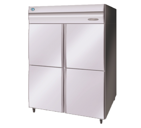 Hoshizaki HFE-147MA-AHD Commercial Series 2 Door Upright Freezer Split 1/2 doors