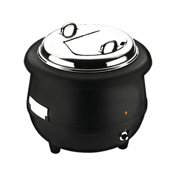 Sunnex Soup Warmer-Black Body, 10.0lt