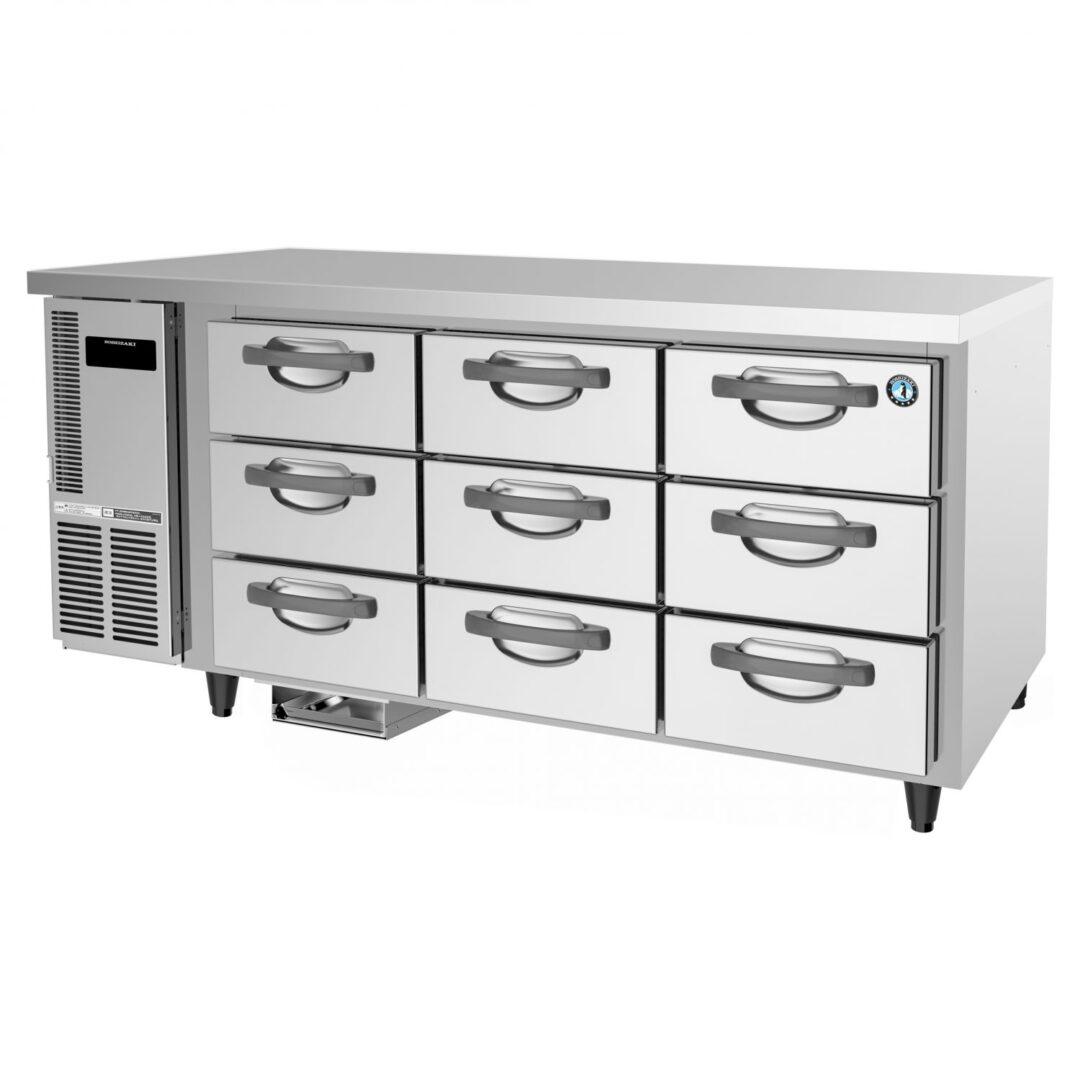 Hoshizaki RTC-167DEA-GN-9 Drawer Type Undercounter Refrigerator