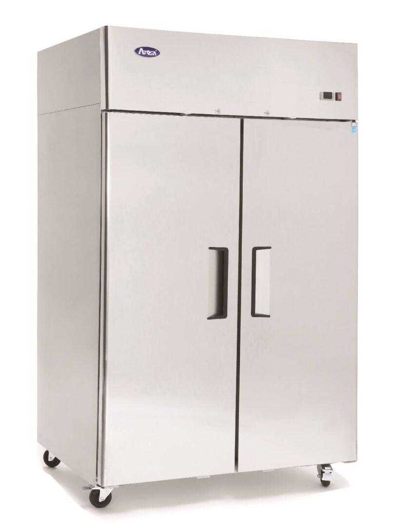 Atosa MBF8002 Top Mounted 2 Door Freezer 1314 mm