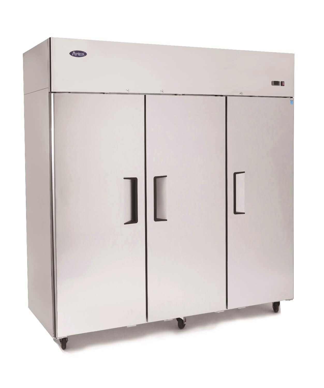 Atosa MBF8006 Top Mounted 3 Door Refrigerator 1976 mm