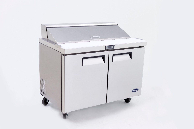 Atosa MSF8303 2 Door Sandwich Prep Table Refrigerator 1530 mm