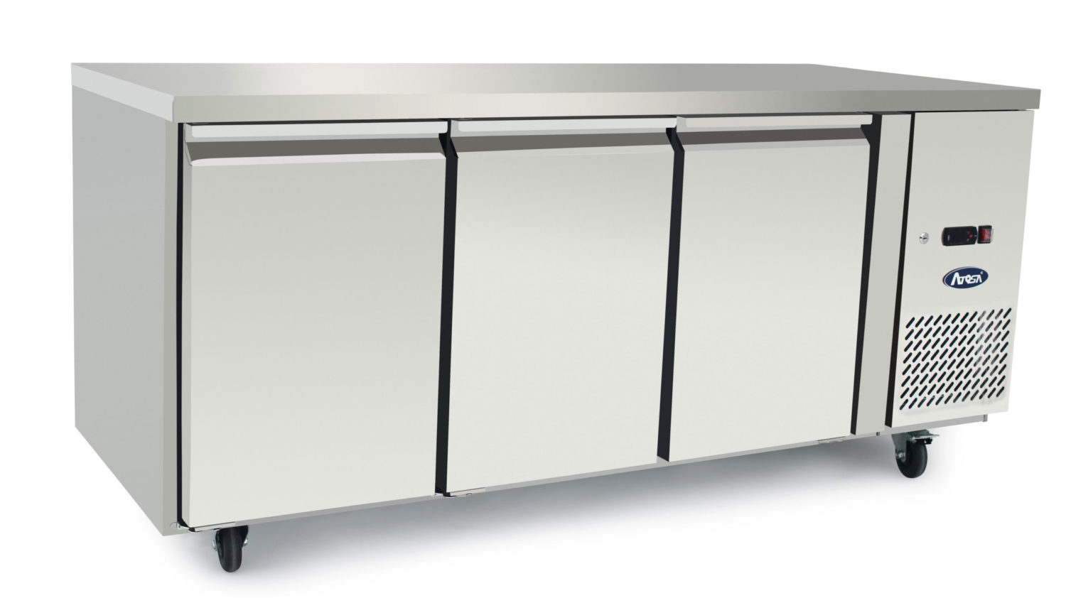 Atosa EPF3472 Underbench Three Door Freezer Table 1795 mm