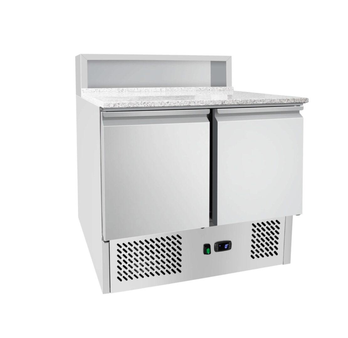 Atosa ESL3831 2 Doors Pizzatable Marble Top Saladette 900 mm