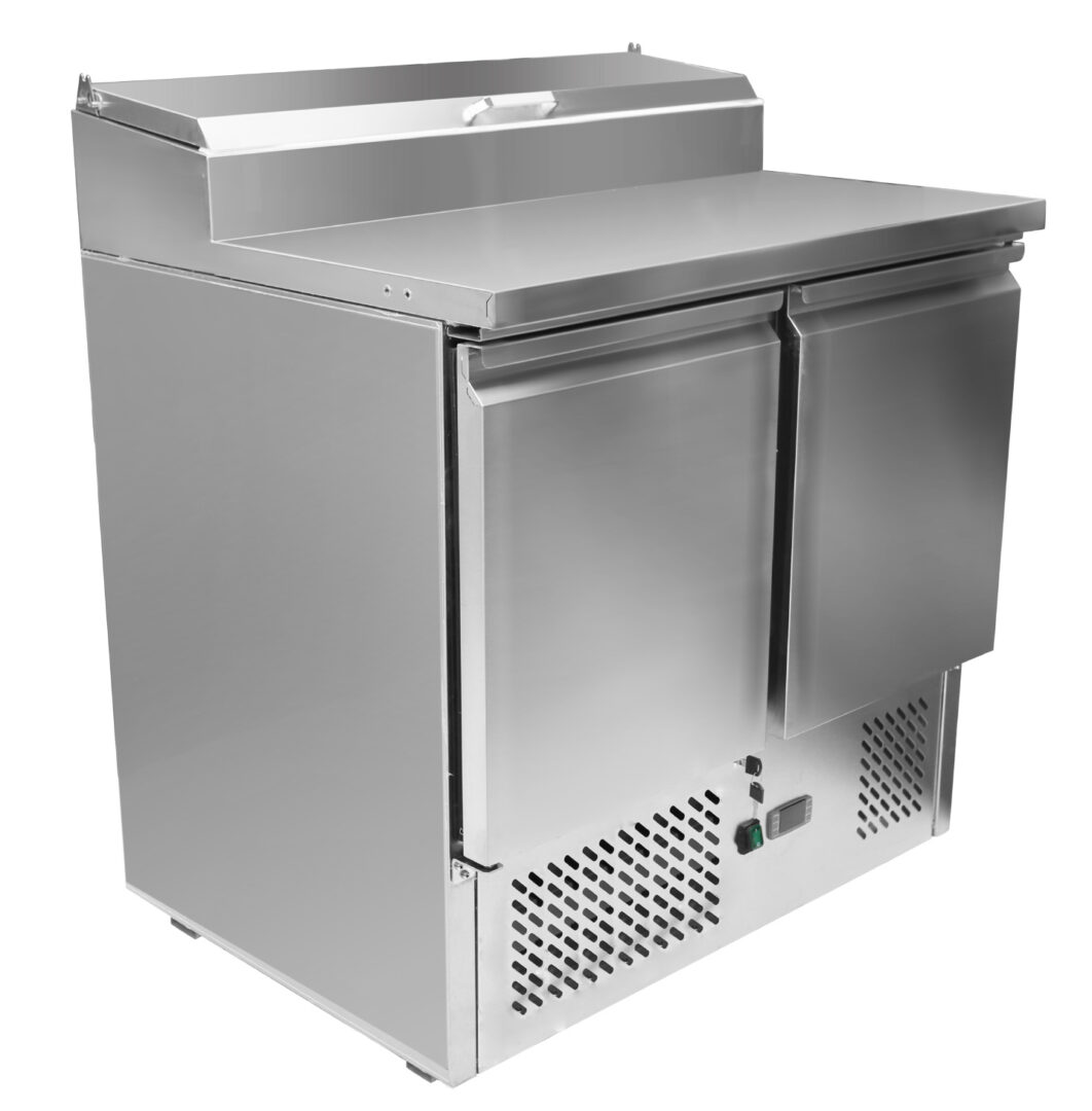 Atosa ESL3832 2 Doors Open Top Saladette W900 mm