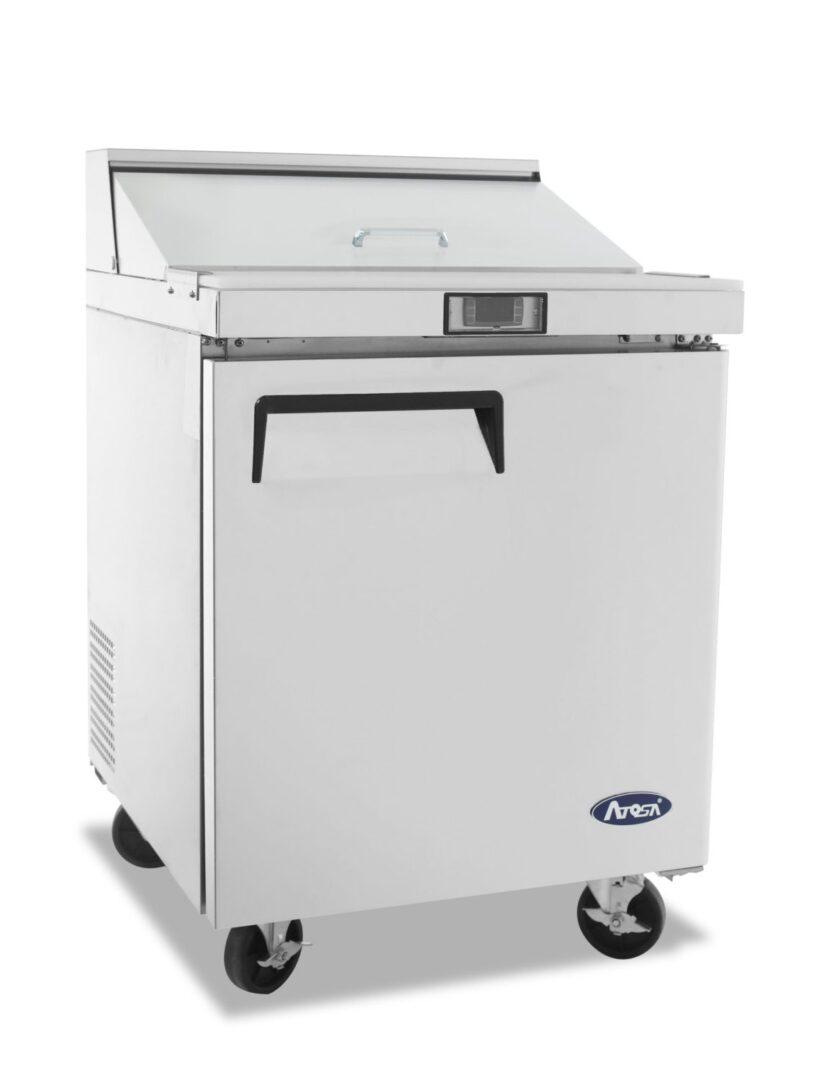 Atosa MSF8301 1 Door Sandwich Prep Table Refrigerator 698 mm