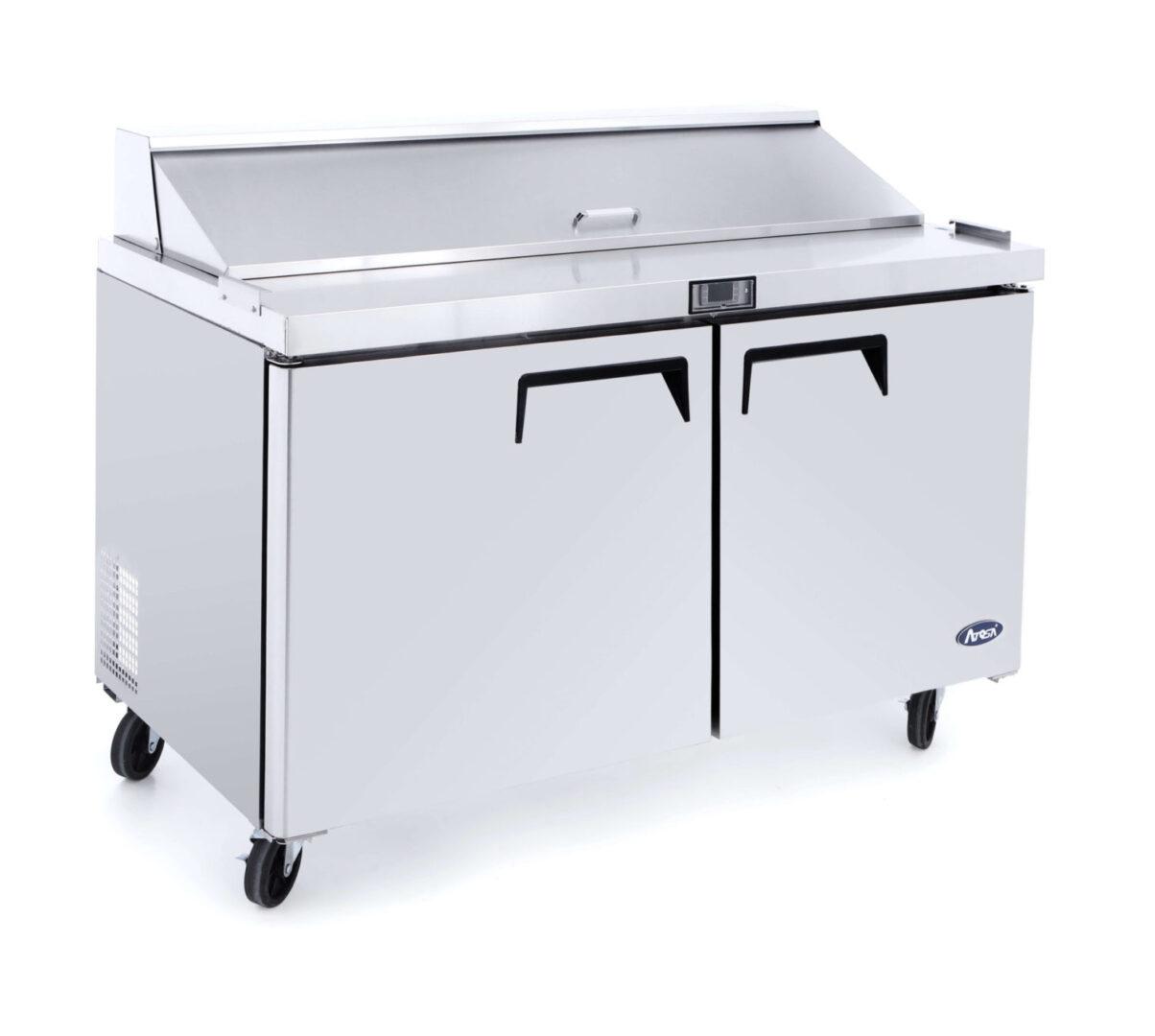 Atosa MSF8302 2 Door Sandwich Prep Table Refrigerator 1225 mm