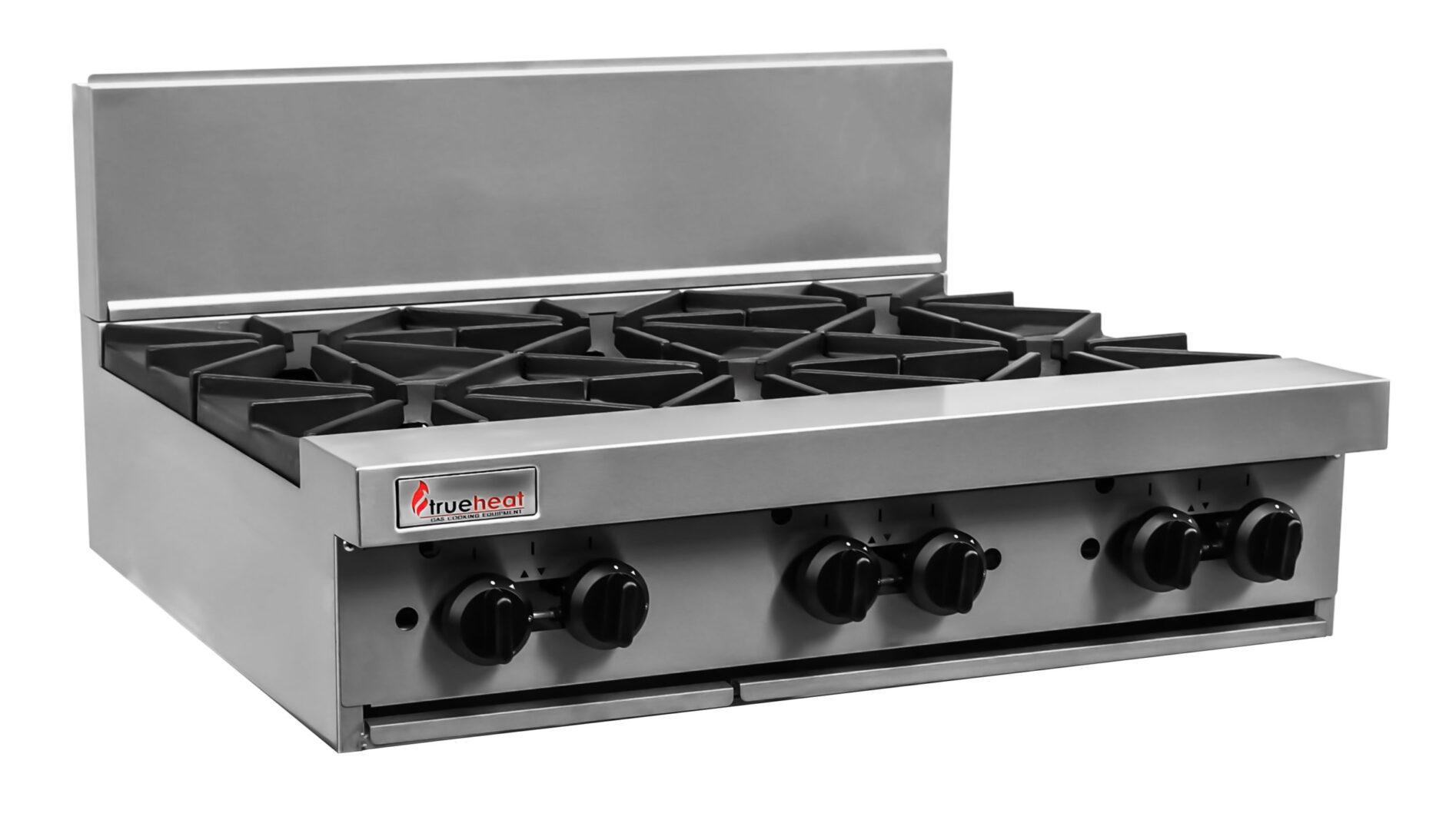 Trueheat RC Series 900mm Top W 6 Burners NG