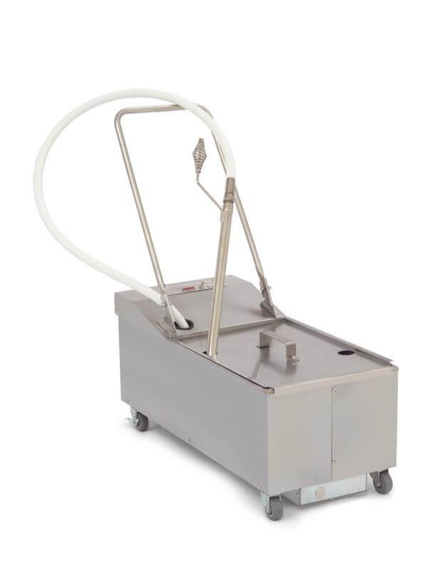 Frymaster PF50R-240 Portable Oil Filter - 25L Reversible Pump
