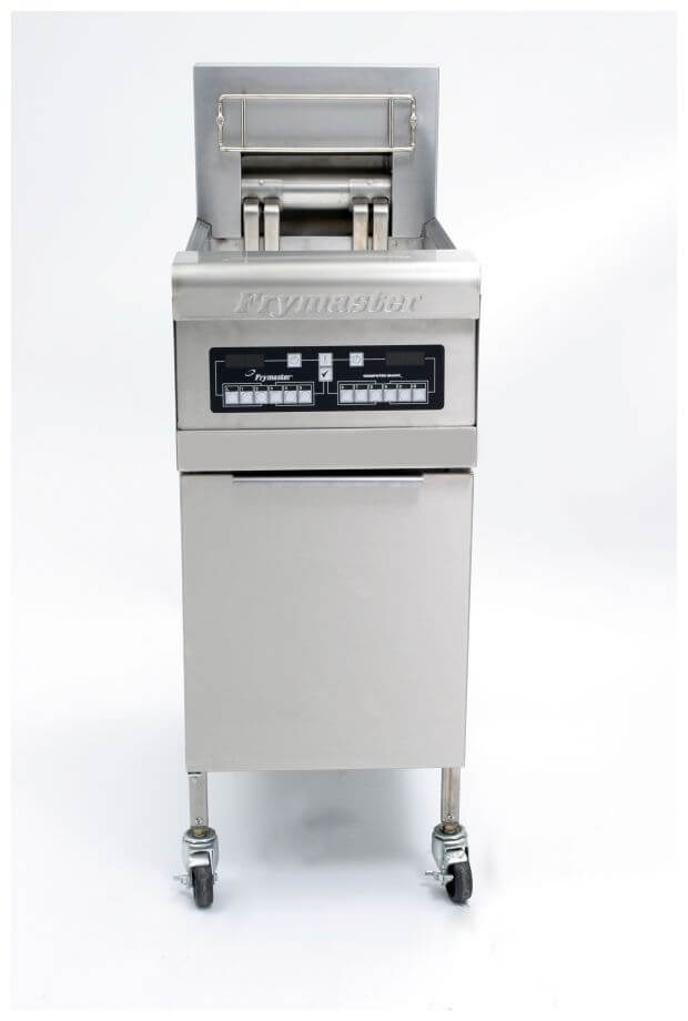 Frymaster RE114-2SD Perf Electric 14kw 2×12.5L Split Pot Fryer Covers