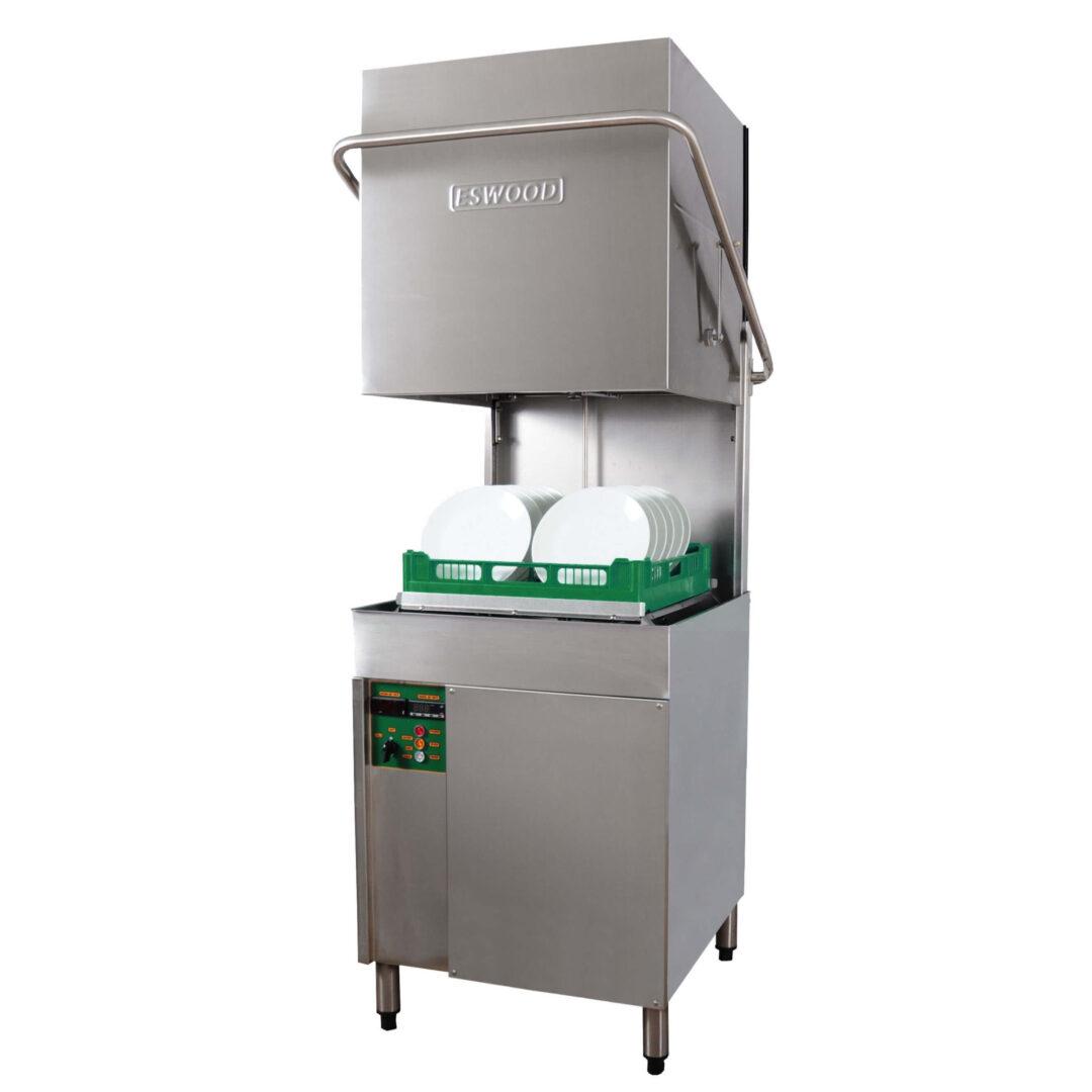Eswood ES50 Heavy Duty Pass-through Recirculating Dishwasher