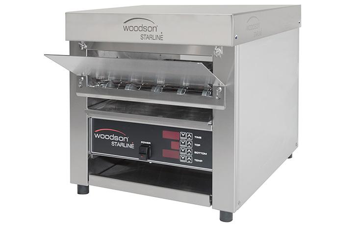 Woodson W.CVT.BUN.25 Bun 25 Conveyor Oven