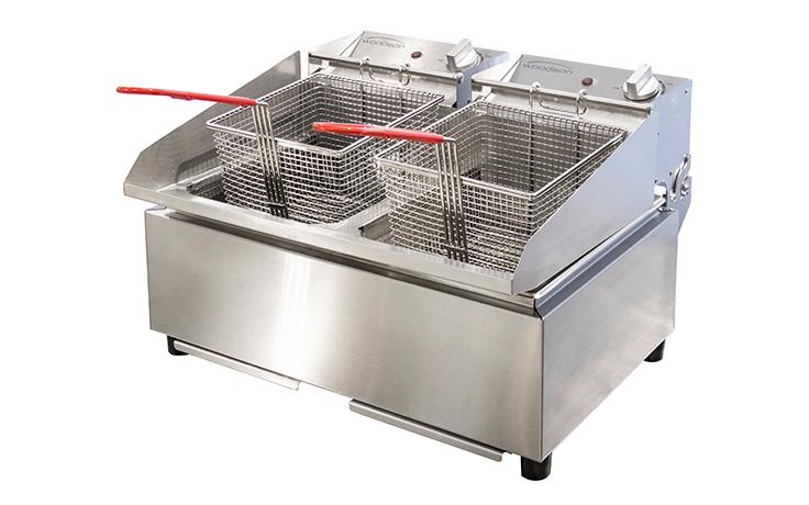 Woodson W.FRT50 Twin Pan 10L Fryer