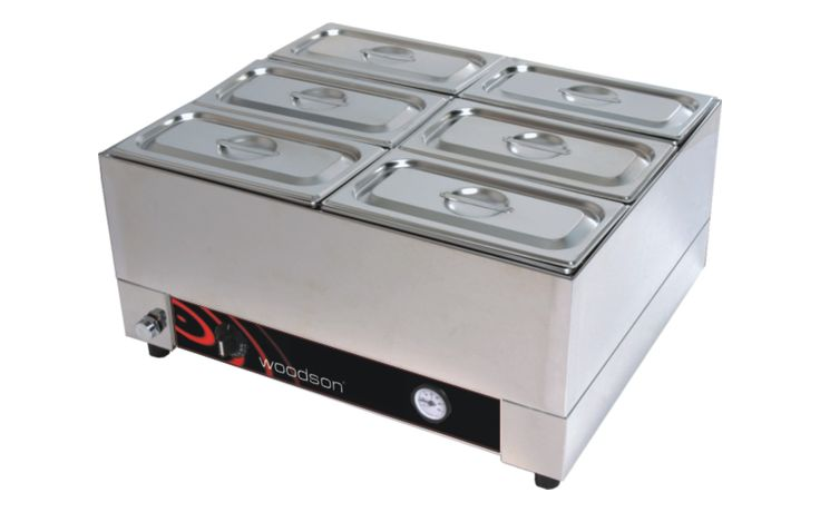 Woodson W.BML21 2/1GN size Benchtop Bain Marie