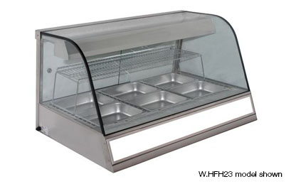 Woodson W.HFH.23 3 bay Heated Chicken Display