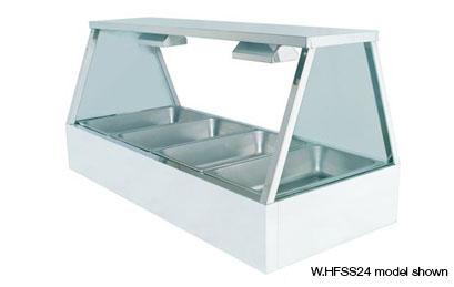 Woodson W.HFSS23 3 Module Self Serve Hot Food Display