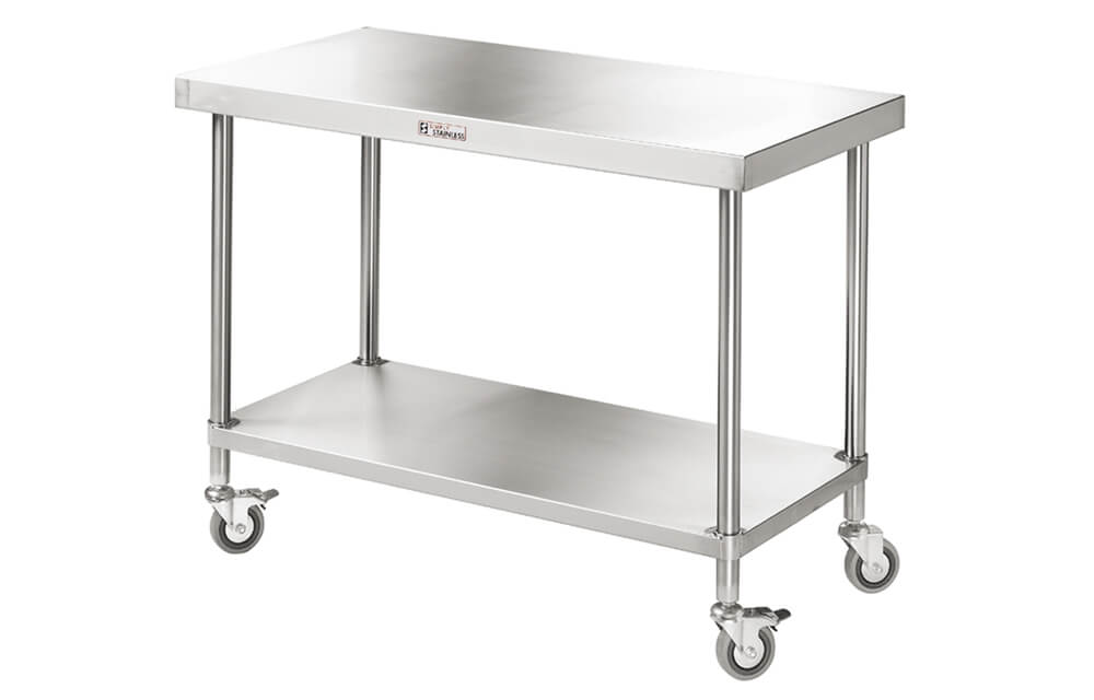 Simply Stainless SS03.7.0900 Mobile Work Bench