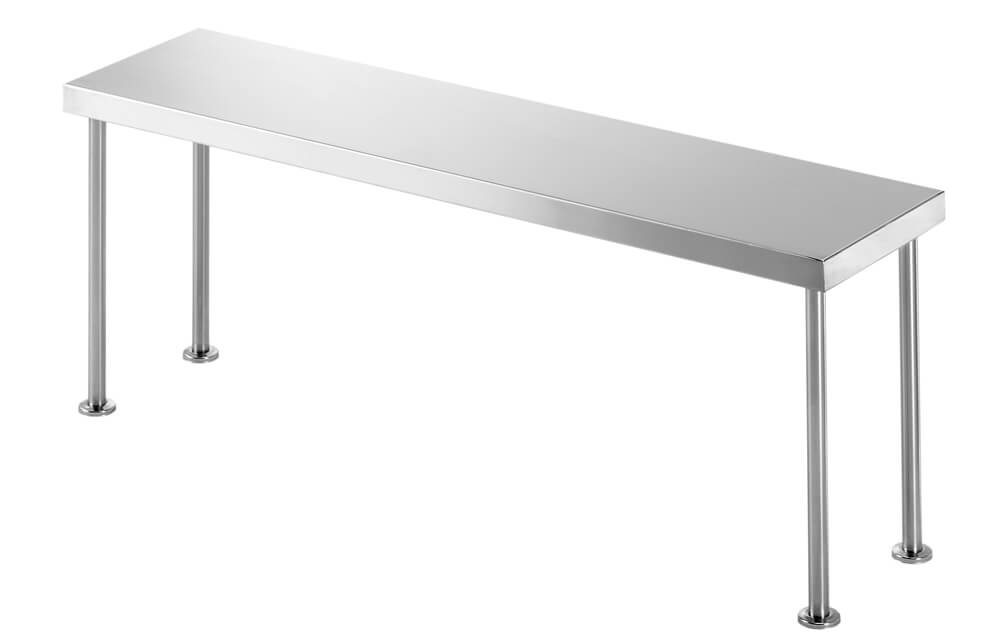 Simply Stainless SS12.2400 Bench Over Shelf