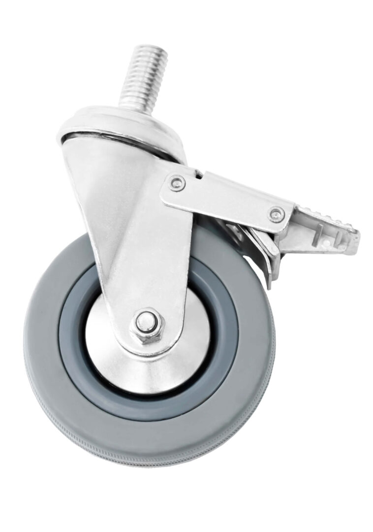 Simply Stainless SSCASBRK Rubber castors locking