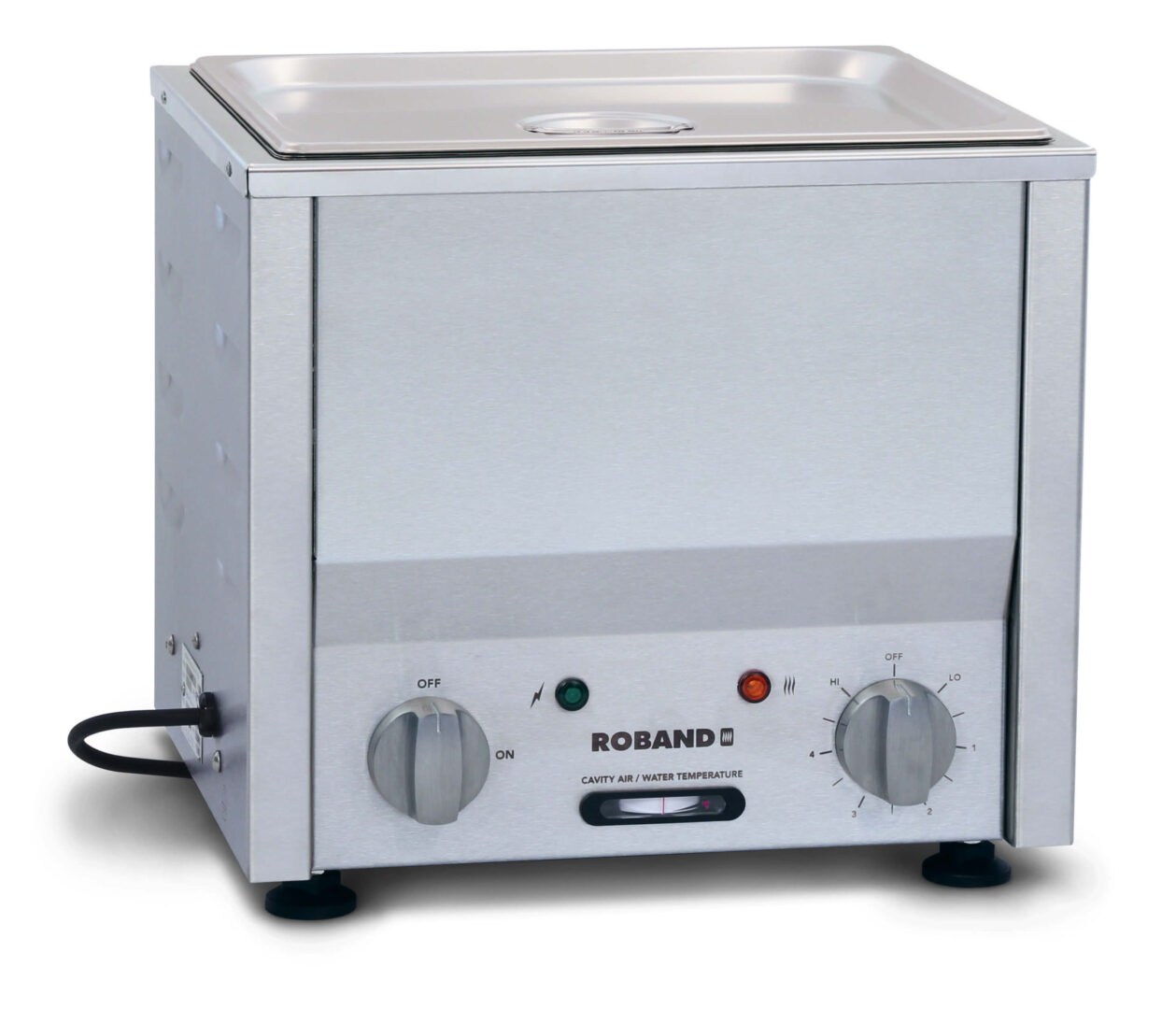Roband Counter Top Bain Marie 1/2 size 100mm pan