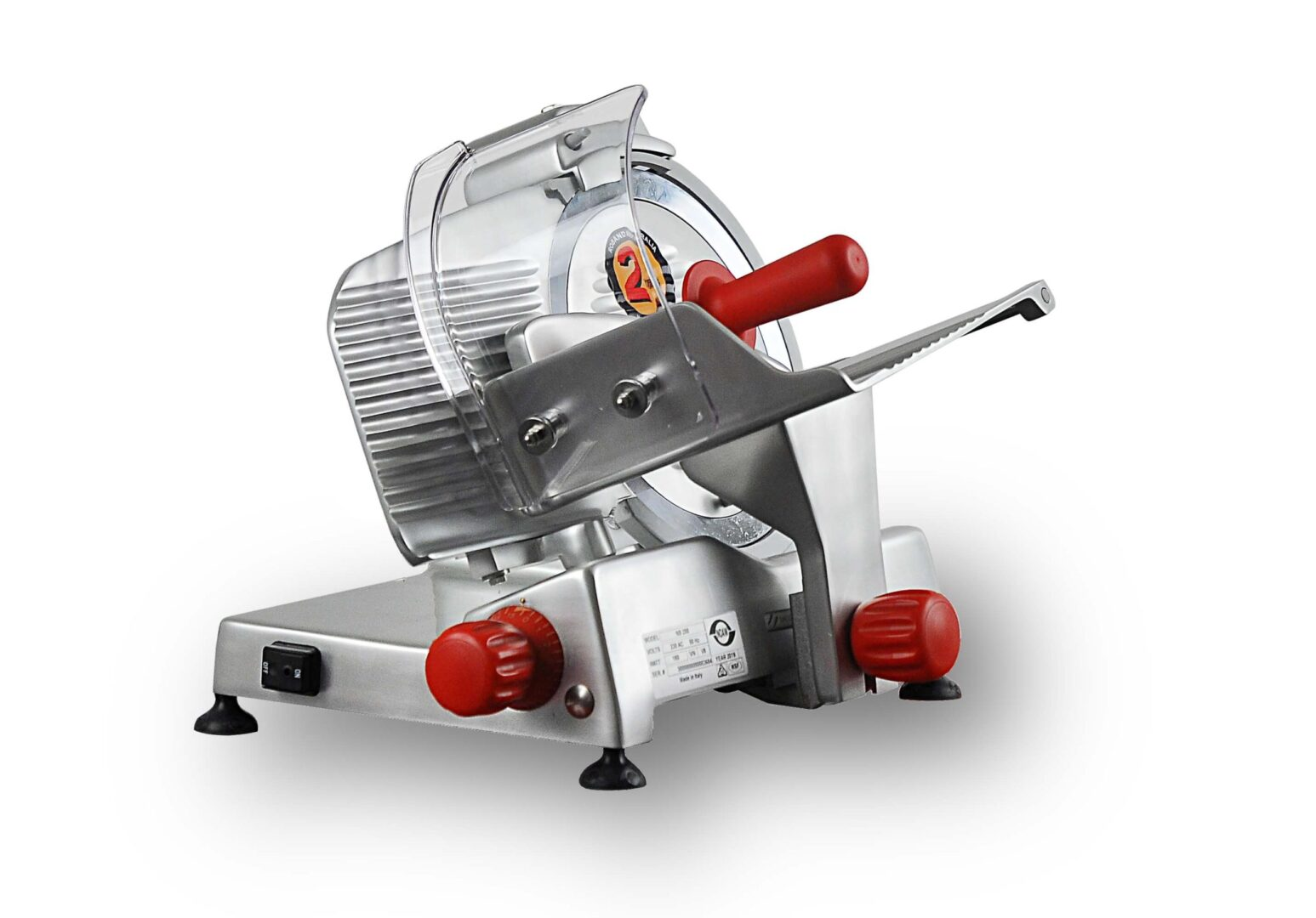 Noaw Manual Gravity Feed Slicers – Medium Duty, 250mm blade