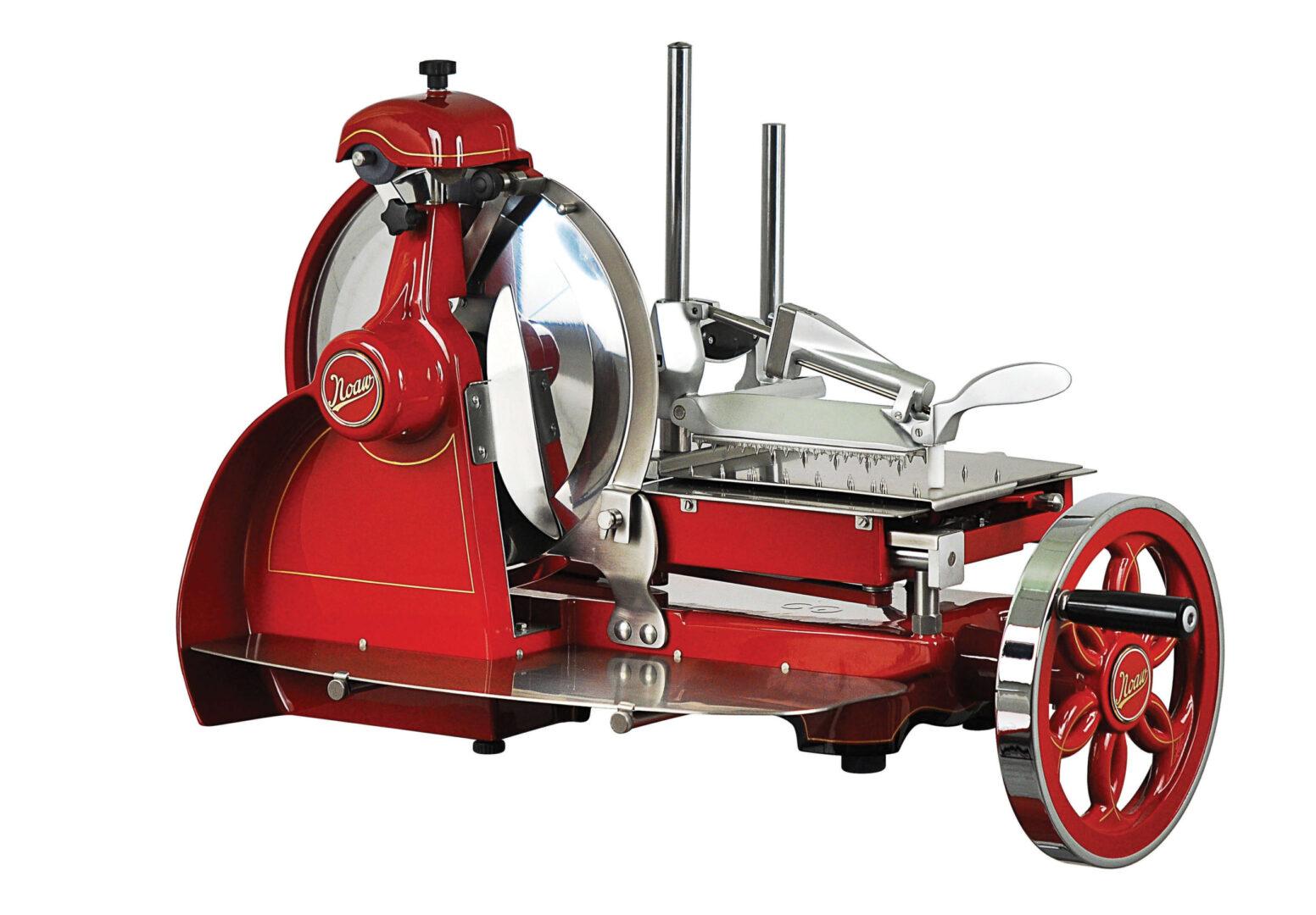 NOAW Traditional Red Flywheel Slicer
