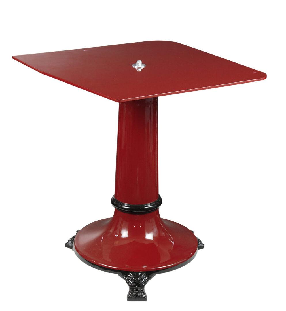 NOAW Red Heritage Flywheel Slicer Stand