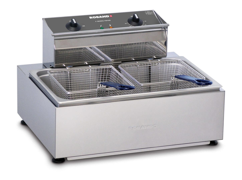 Roband F111 Single Pan/Double basket fryer 11lt