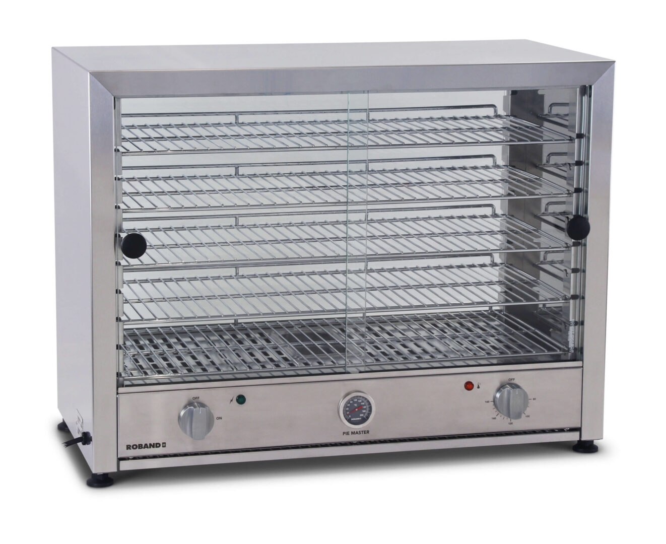 Roband PM100S Pie Master Pie Warmer – Stainless Steel Doors